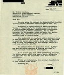 Letter from an Indian Supporter to Geraldine Ferraro and Walter Mondale