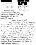 Letter from an English Supporter to Geraldine Ferraro by Geraldine Ferraro