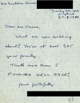 Letter from an English Critic to Geraldine Ferraro