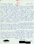 Letter from a Canadian Supporter to Geraldine Ferraro