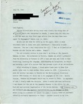 Letter from a Canadian Supporter in Italy to Geraldine Ferraro
