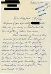 Letter from an American Supporter in Italy to Geraldine Ferraro