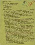 Letter from Patricia Bray, a Journalist in Mexico, to Geraldine Ferraro