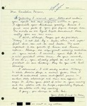 Letter from a Korean Supporter to Geraldine Ferraro