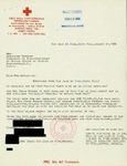 Letter from the Red Cross of San Juan de Dios in Costa Rica to Geraldine Ferraro