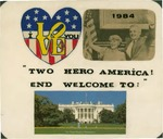 Card from an Indonesian Supporter to Geraldine Ferraro