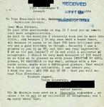 Letter from a Danish Supporter to Geraldine Ferraro
