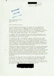 Letter from a Danish Supporter to Geraldine Ferraro