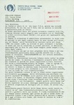 Letter from Partito delle Donne to Geraldine Ferraro