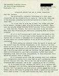 Letter from a Costa Rican Supporter to Geraldine Ferraro