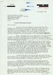 Letter from a British Supporter in Italy to Geraldine Ferraro