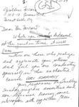Letter from a New Jersey Supporter to Geraldine Ferraro by Geraldine Ferraro