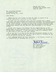 Letter from Dr. Walter D. Finucane, Former Chapter President of Phi Delta Kappa, to Geraldine Ferraro