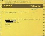 Telegram from a New York Supporter to Geraldine Ferraro
