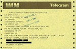 Telegram from a New York Supporter to Geraldine Ferraro