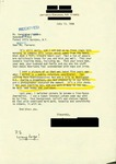 Letter from a New York Supporter to Geraldine Ferraro