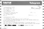 Telegram and Letter from a New York Supporter to Geraldine Ferraro