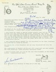 Letter from Joseph Giordano, Branch President for the National Association of Letter Carriers, to Geraldine Ferraro by Joseph S. Giordano and Geraldine Ferraro