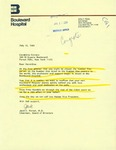 Letter from Dr. Jack Forest, Chairman of the Board of Directors for Boulevard Hospital, to Geraldine Ferraro