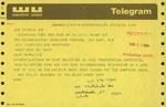 Telegram from Bud Staley, Chairman of the NYNEX Corporation, to Geraldine Ferraro by Bud Staley and Geraldine Ferraro