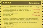 Telegram from Anthony Gagliotti, President of Unico National, to Geraldine Ferraro