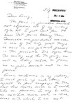 Letter from Paul Schosberg, President of the New York League of Savings Institutions, to Geraldine Ferraro
