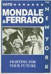 Vote Mondale & Ferraro for New York: Fighting for Our Future