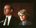 Geraldine Ferraro and Chairman Charles Manatt at 1984 Democratic National Committee Platform Hearings by Geraldine Ferraro