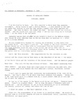 Portland Speech: Press Release Version