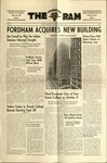 The Fordham Ram, Vol. 24  No.2, Fordham Acquires New Building