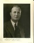 Ignatius M. Wilkinson, 1923-1953 by Underwood & Underwood, N.Y.